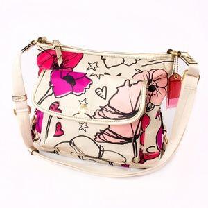Coach Kyra Poppy Crossbody Handbag Purse